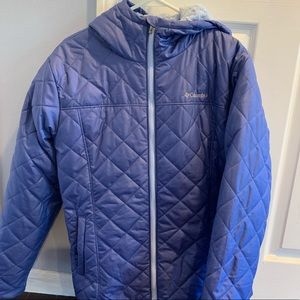 Quilted Columbia winter coat